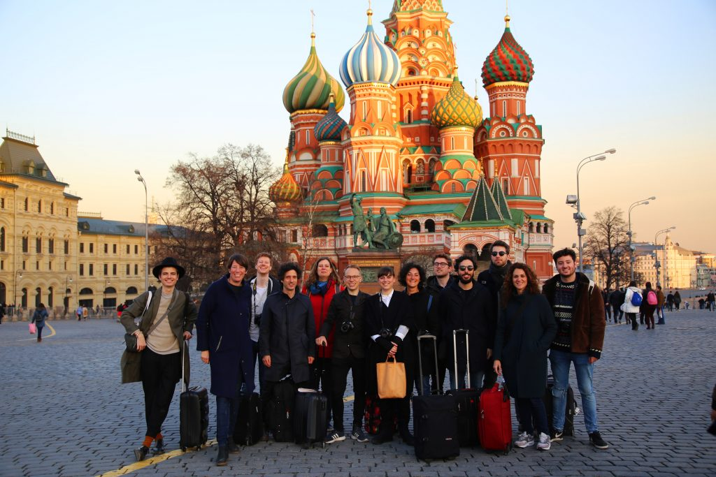 Bureau B+B on Red Square Moscow