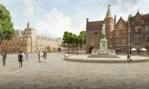 """De Plaats"" as a spatial ancorpoint in the city"